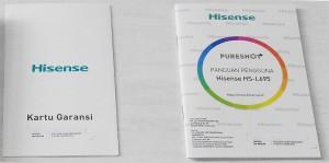 Kartu Garansi dan Buku Panduan Hisense PureShot+