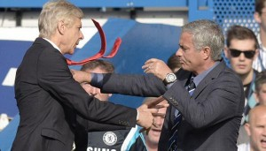 Arsene Wenger dan Jose Mourinho