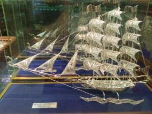 replika kapal dewa ruci