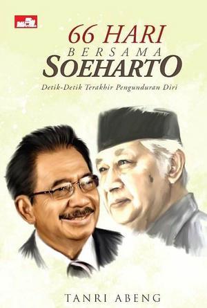 "Cover Buku ""66 Hari Bersama Soeharto"" karya Tantri Abeng"