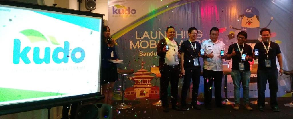 Launching KUDO mobile application, Kamis (3/3/2016), di Bawean Resto, Bandung