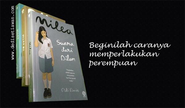"Cover novel ""Milea Suara dari Dilan"""